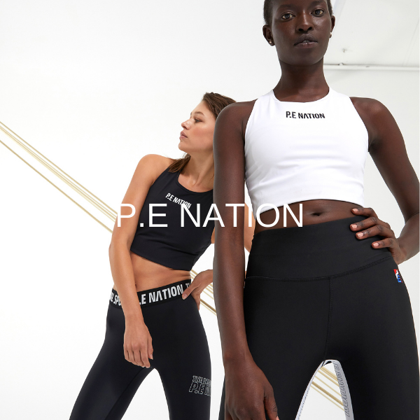 - P.E Nation was established in Sydney, Australia by Pip Edwards and Claire Tregoning. Since its launch in 2016, the brand's range of street-meets-sportswear has expanded to include technical activewear, retro-inspired streetwear, functional snow gear, footwear, and accessories.The P.E Nation philosophy is centered around quality design and construction while offering fashion forward, comfortable and functional pieces designed to take you to from the studio to the street. The brand reflects a sense of unity and celebrates an active way of life. P.E Nation is for an urban life, lived at fast pace. Designed to perform all day, every day.
